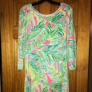 """UPF 50 Lilly Pulitzer """"Sophie"""" Dress in XL"""